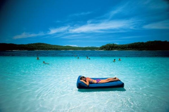 Fraser Island, Queensland - world's largest sand island.