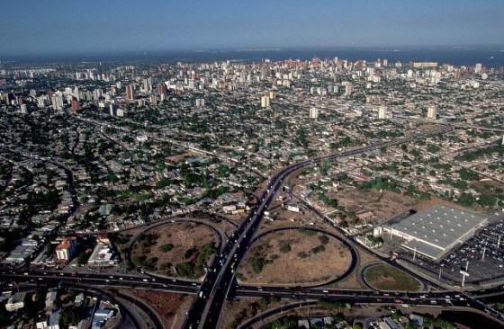 Aerial View of Maracaibo, Venezuela