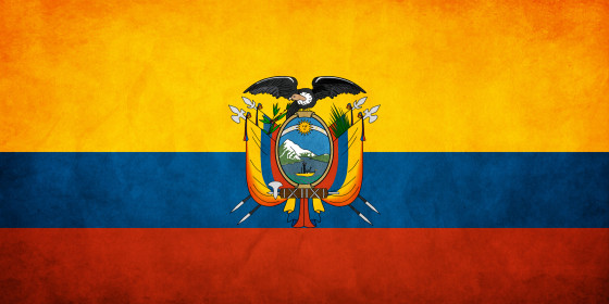 Ecuador_Grunge_Flag_by_think0к